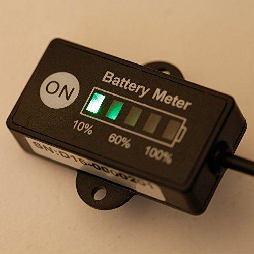 photo Wallpaper of KKmoon-KKmoon LED Digital Batteriestatus Ladeanzeige Monitor Batteriemessgeräte 12V/24V-