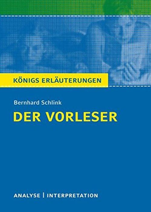 photo Wallpaper of -Königs Erläuterungen: Textanalyse Und Interpretation Zu Schlink. Der Vorleser. Alle Erforderlichen Infos-