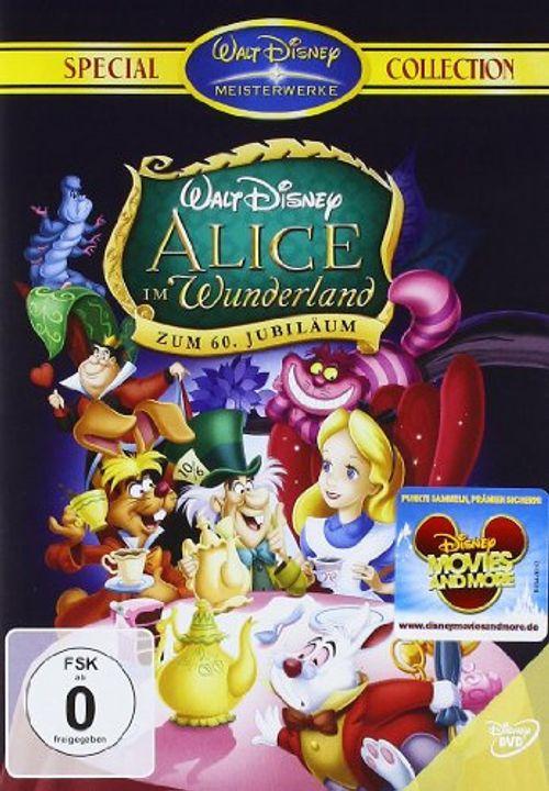 photo Wallpaper of Disney-Alice Im Wunderland (Special Collection Zum 60. Jubiläum)-