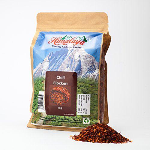 photo Wallpaper of Himalaya Gewuerze-1kg Chiliflocken Geschrotet, Ursprung: Himalaya Gebirge Indien, Naturware-