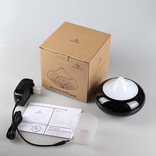 photo Wallpaper of GX Diffuser-GX Diffuser Ultrasonico Difusor De Aceites Esenciales Electrico Aromaterapia Humidificador Ambientador Aceite-Negro