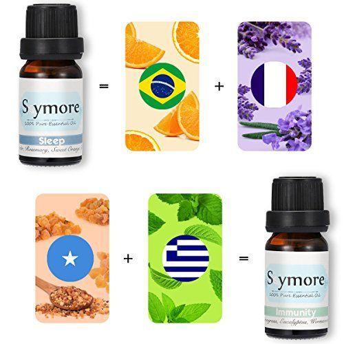 photo Wallpaper of Skymore-Skymore, Conjunto De 6 Aceites Esenciales, 100% Puro Aromaterapia Para Difusor,-