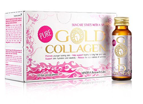 photo Wallpaper of MINERVA Research Labs-Pure GOLD COLLAGEN 10 Day Programme-