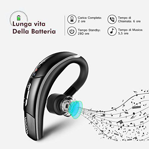 photo Wallpaper of Mpow-Mpow® Bluetooth Headset [Business Stil] Wireless Headset Bluetooth Ohrhörer Freisprechen Mit-Black