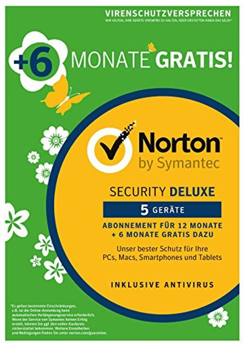photo Wallpaper of Symantec-Norton Security Deluxe 2018 | 5 Geräte | 18 Monate | PC/Mac/iOS/Android | Download-