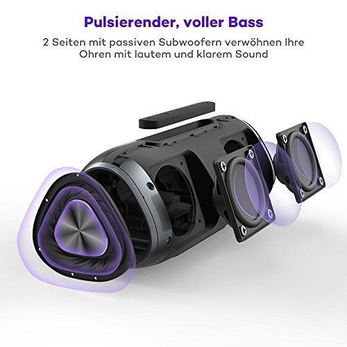 photo Wallpaper of VAVA-Bluetooth Lautsprecher 4.2 24 Stunden Spielzeit IPX5 VAVA, Bluetooth Speaker 5200mAh-