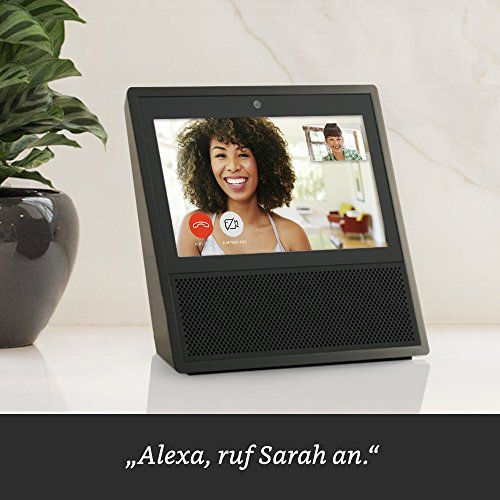 photo Wallpaper of Amazon-Wir Stellen Vor: Echo Show   Schwarz-Schwarz