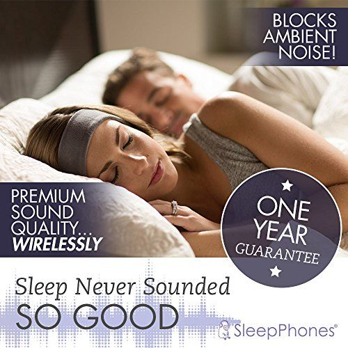 photo Wallpaper of AcousticSheep -AcousticSheep SleepPhones V.6 Classic Breeze Wireless Bluetooth Kopfband Kopfhörer, Galaxy Blue, Klein/Extra Klein-Galaxy Blue