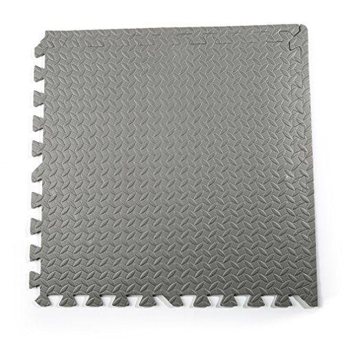 photo Wallpaper of COZIME-COZIME Schutzmatten Set | 12 X Puzzle Matte á 60 X 60 Cm |-Grau