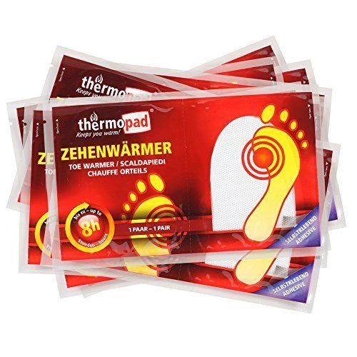 photo Wallpaper of Thermopad-Thermopad Zehen Wärmer | Angenehme Wärme Für Die Zehen | 37°C |-weiß