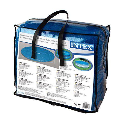 photo Wallpaper of Intex-Intex Solarabdeckplane Für Easy Frame Pool, Isolierend, Blau, Ø 366-blau