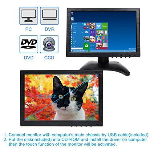 photo Wallpaper of TOGUARD-Toguard 10.1 Inch IPS Touch Monitor Bildschirm Mit Eingabestift Farbe Ultra-WR952 1280*800(10.1 Zoll+Touch Screen+Lautsprecher)
