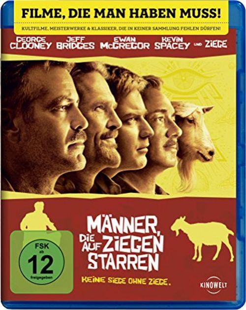 photo Wallpaper of CLOONEY JORGE / BRIDGES JEFF / MCGREGOR EWAN / SPA-Männer, Die Auf Ziegen Starren [Blu Ray]-