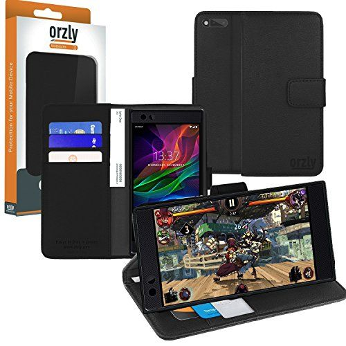 photo Wallpaper of ORZLY®-ORZLY® Razer Phone Schutzhülle, Multi Functional Wallet Stand Case Für Das Razer Smartphone (2017-SCHWARZ für Razer Phone
