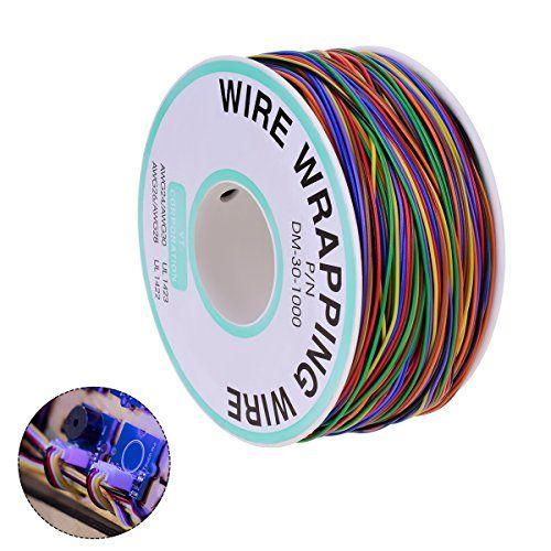 photo Wallpaper of YoungRich-YoungRich 280m Isolierungs Test Verzinnte Kupfer Solid Kabel 30AWG 8 Farben Für-