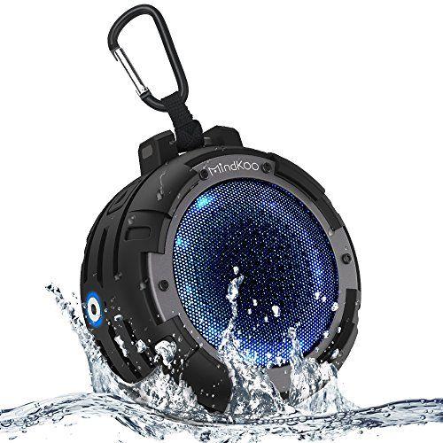photo Wallpaper of MindKoo-Bluetooth Lautsprecher, MindKoo LED Wireless Speaker IPX8 Wasserdicht Mit Eingebauten-