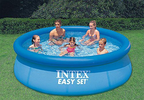 photo Wallpaper of Intex-Intex Easy Set Aufstellpool, Blau, Ø 305 X 76 Cm-Blau