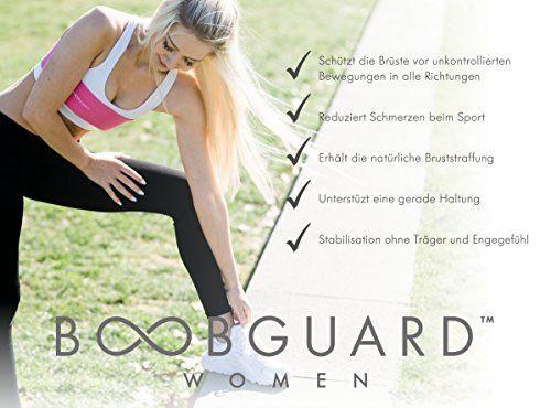 photo Wallpaper of Boobguard-Boobguard ORIGINAL/Ergänzung Zum Sport BH/Sicher Und Mit Festem Halt Trainieren/Kompressionsband Für Alle Größen/Gr.-pink
