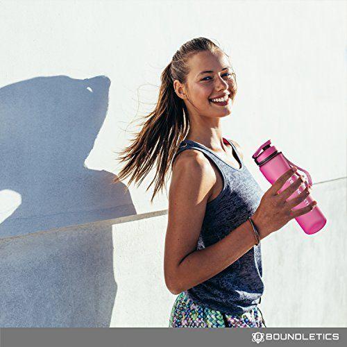 photo Wallpaper of Boundletics-Trinkflasche   Wasserflasche   Sportflasche Aus Tritan   BPA Frei-Pink | 1.000ml