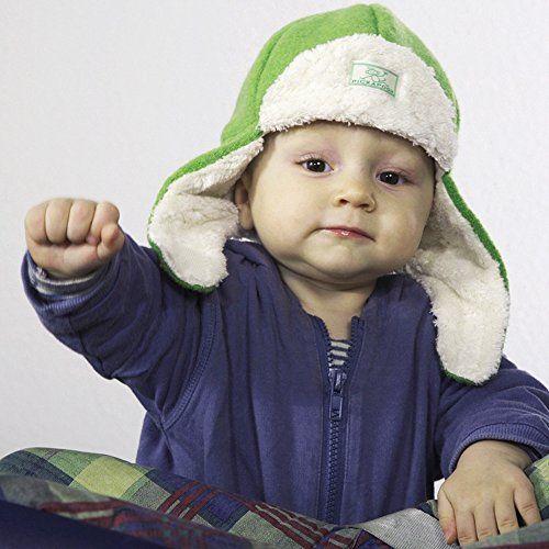 photo Wallpaper of PickaPooh-PICKAPOOH Baby / Kinder Mütze Fynn Aus Wollwalk KbT-Grün