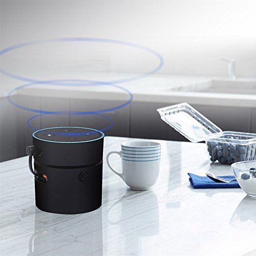 photo Wallpaper of TechCode-TechCode Echo Batteriebasis, Portable Batteriebasis Für Amazon Echo Dot 2 Intelligent-