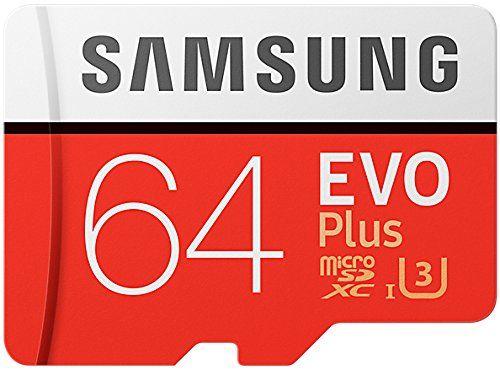 photo Wallpaper of Samsung-Samsung EVO Plus Micro SDXC 64GB  Bis Zu 100MB/s Class 10 U3-Rot/Weiß