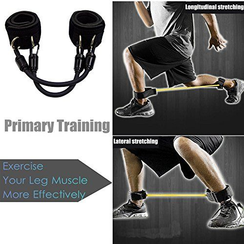photo Wallpaper of FIGROL-FIGROL Speed And Strength Resistance Bands For Legs Workout Whole Set Fitness Exercise Tool-Leg Resistance Bands