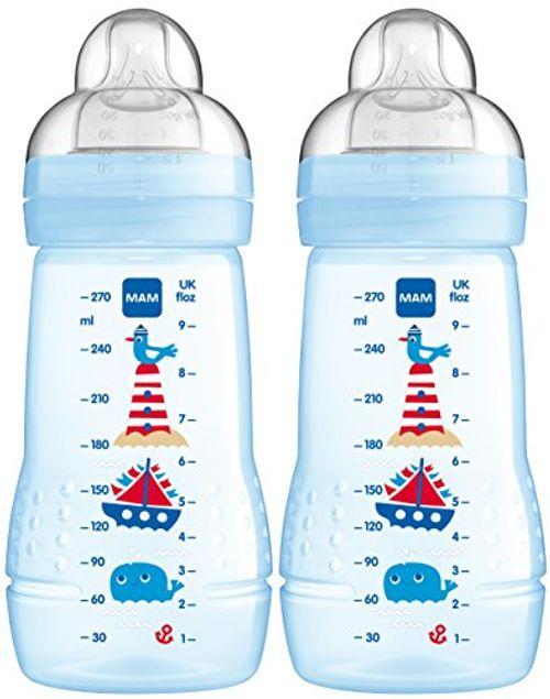 photo Wallpaper of MAM-MAM 99957411   Easy Active Baby Bottle 270 Ml,Doppelpack Für Jungen-blau