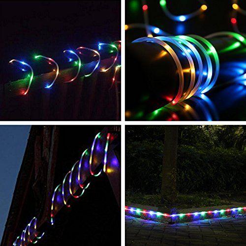 photo Wallpaper of MEIKEE-MEIKEE 120 LED Lichterschlauch 12M RGB 8 Modi Mit Memory Funktion Für-
