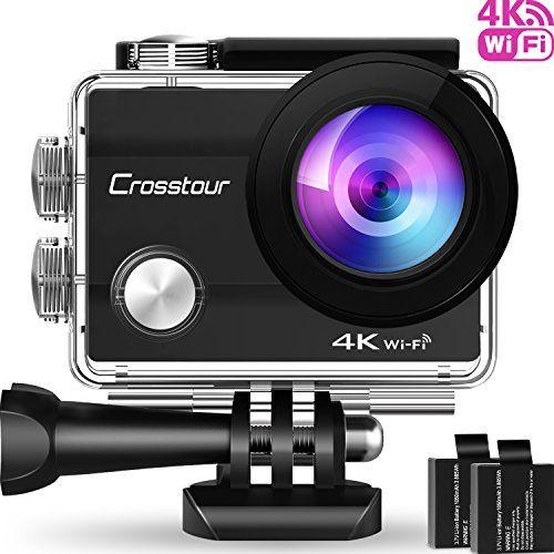 photo Wallpaper of Crosstour-Crosstour Action Cam (4K WI Fi)-Schwarz