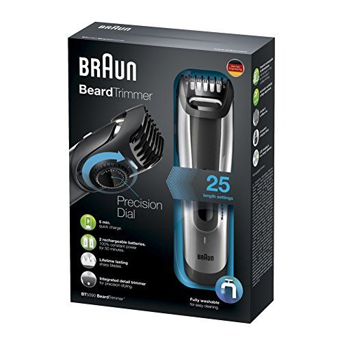 photo Wallpaper of Braun-Braun BT5090 – Recortadora De Barba Con Ajuste Fino Cada-Gris