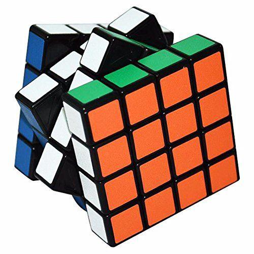 photo Wallpaper of LSMY-LSMY 4x4x4 Puzzle Würfel Puzzle Würfel Spielzeug Schwarz Matt Aufkleber-4x4