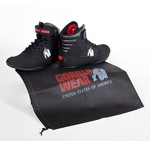 photo Wallpaper of Gorilla Wear-Gorilla Wear Bodybuilding Schuhe High Tops Black, 38-Schwarz