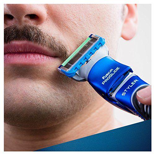 photo Wallpaper of Gillette-Gillette Fusion ProGlide Styler   Maquinilla De Barba Multiusos , Recortadora,-Negro, Azul