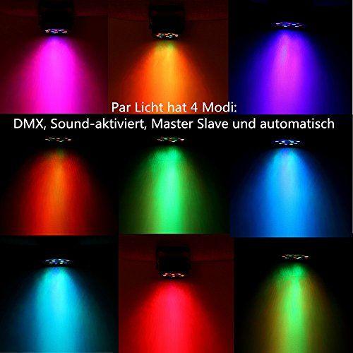 photo Wallpaper of SOLMORE-DJ Lichteffekte,SOLMORE Disco Licht 18W 18LED LED PAR Licht DJ Licht Mit Fernbedienung-