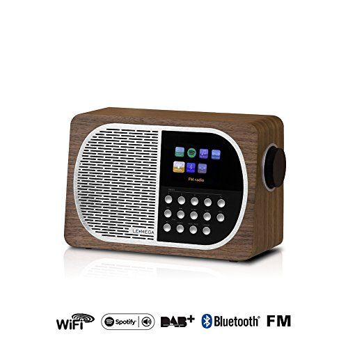photo Wallpaper of LEMEGA-LEMEGA M2+ Wi Fi, DLNA, Spotify Verbinden, Internet Radio, DAB, DAB+,-Nussbaum