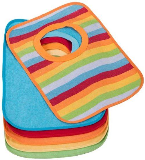 photo Wallpaper of Bieco-BIECO Paquete De 6 Baberos Babero Bebé Forrada Con Plástico, Multicolor-Multicolor