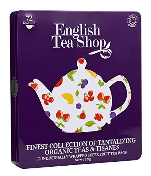 photo Wallpaper of English Tea Shop-English Tea Shop   Hochwertige Tee Geschenkbox Aus Metall