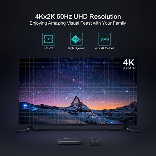 photo Wallpaper of TICTID-2018 Smart TV Box   TICTID RK Max Android 6.0 TV Box-schwarz