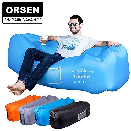 photo Wallpaper of ORSEN-ORSEN Luft Sofa Couch, Wasserdichtes Aufblasbares Sofa, Air Lounger, Aufblasbare-Blau-2