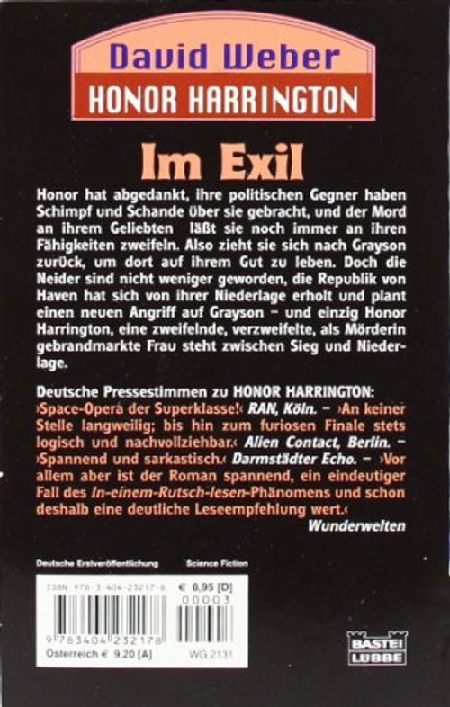 photo Wallpaper of -Im Exil: Honor Harrington, Bd. 5-