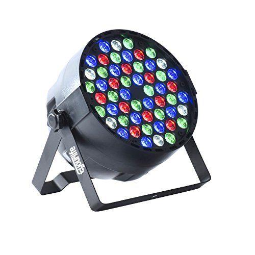 photo Wallpaper of Eyourlife-LED Par, Eyourlife LED Partylicht Bühnenbeleuchtung Discolicht Par LED 60W Lichteffekt DMX512 RGBW Stage-54x3W - 1pc