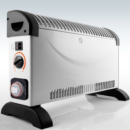 photo Wallpaper of Deuba-Heizgerät Mit Frostwächter 12Std Timer 2000W Konvektor Heizer Radiator Heater Elektrische Heizung-