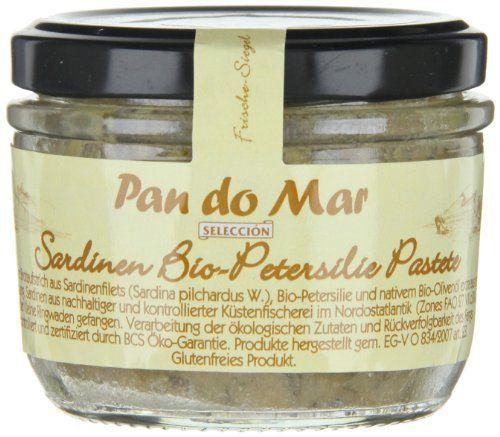 photo Wallpaper of Pan do Mar-Pan Do Mar Sardinen Bio Petersilie Pastete (1 X 125 Gr)-