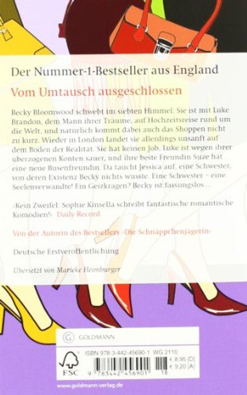 photo Wallpaper of -Vom Umtausch Ausgeschlossen: Ein Shopaholic Roman 4 (Schnäppchenjägerin Rebecca Bloomwood, Band 4)-