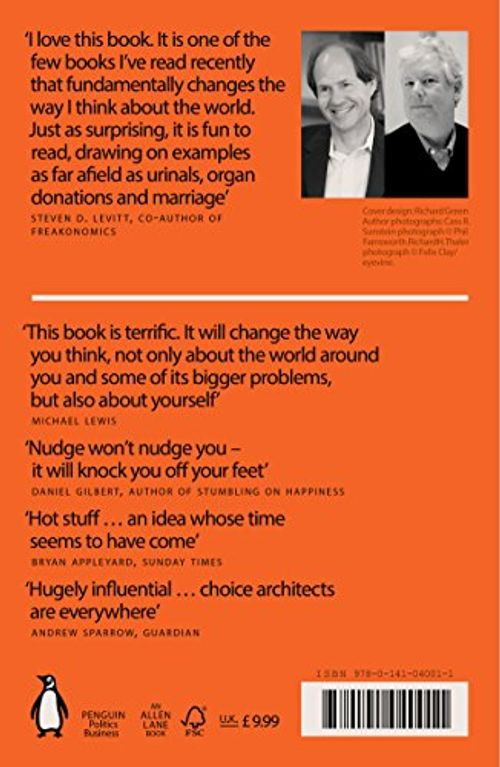photo Wallpaper of Penguin Books Ltd (UK)-Nudge: Improving Decisions About Health, Wealth And Happiness-