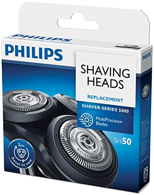 photo Wallpaper of Philips-Philips 5000 SH50/50   Cabezales De Afeitadoras, Color Negro-Cromo