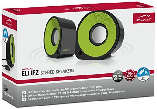 photo Wallpaper of SPEEDLINK-Speedlink Ellipz Stereo Speaker Schwarz/grün-Schwarz-Grün
