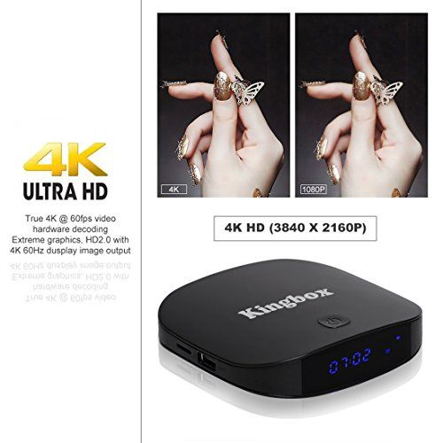 photo Wallpaper of Kingbox-Kingbox   [2018 Neueste Version] K1 PLUS Android 7.1 TV Box 2GB Ram-
