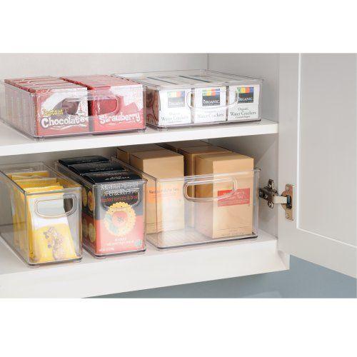 photo Wallpaper of InterDesign-InterDesign Cabinet/Kitchen Binz Caja Organizadora, Gran Organizador De Cocina De-Transparente